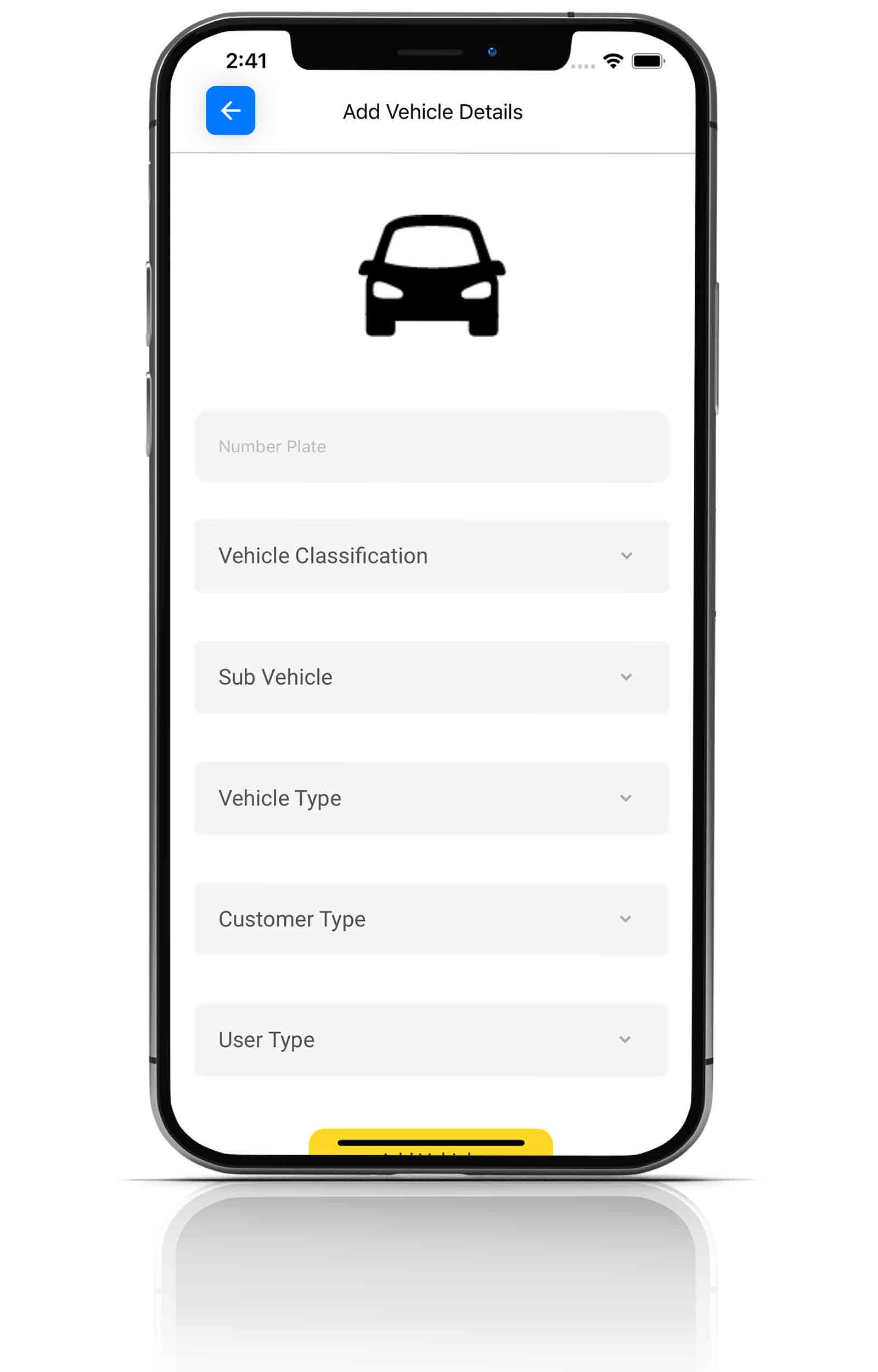 AcuitiPay Add Vehicle